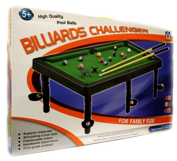 Junfa toys Бильярд (66737)