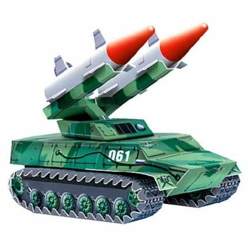 Сборная модель Умная Бумага Зенитно-ракетный комплекс (061) 1:35