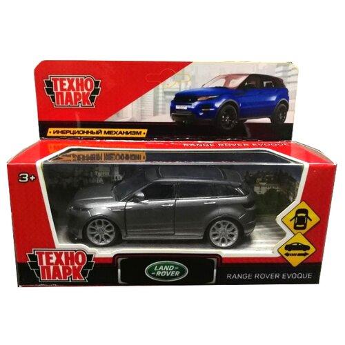 Легковой автомобиль ТЕХНОПАРК Range Rover Evoque (EVOQUE-BU/GY) 12.5 см серыйМашинки и техника<br>