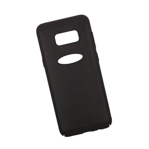 Чехол Liberty Project Сетка Soft Touch для Samsung S8 Plus черный