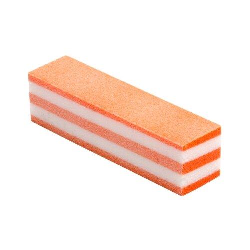 Irisk Professional Блок шлифовальный Б306-15 Пастила четырехсторонний 03, Оранжевый