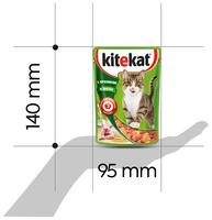 Корм для кошек Kitekat (0.085 кг) 1 шт. Сочные кусочки. С кроликом в желе 0.085 кг 1