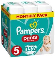 Pampers трусики Pants 5 (12-17 кг) 152 шт.