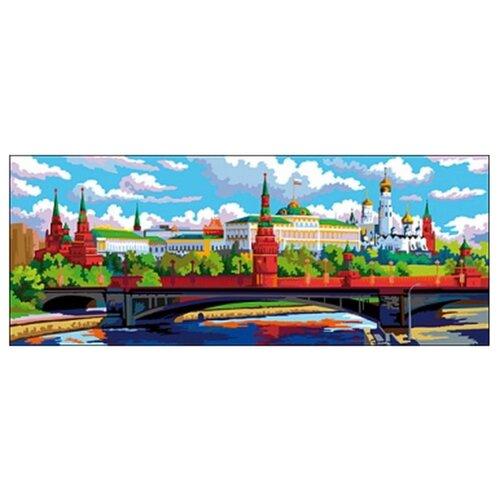 Фото - Рыжий кот Картина по номерам Москва. Кремль 20х50 см (Х-7958) рыжий кот картина по номерам винни пух союзмультфильм 18х24 см х 5440