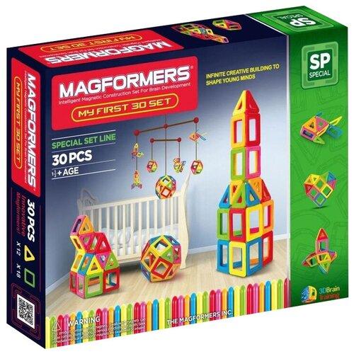 Фото - Конструктор Magformers My First 702001 (63107)-30 конструктор magformers my first 63144 желтый багги