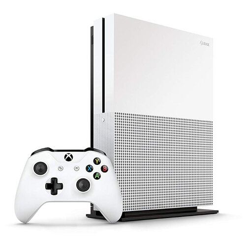 Игровая приставка Microsoft Xbox One S 1 ТБ белый + Сontrol + Quantum Break + 3M Game Pass + XboxLiveGold 3мес