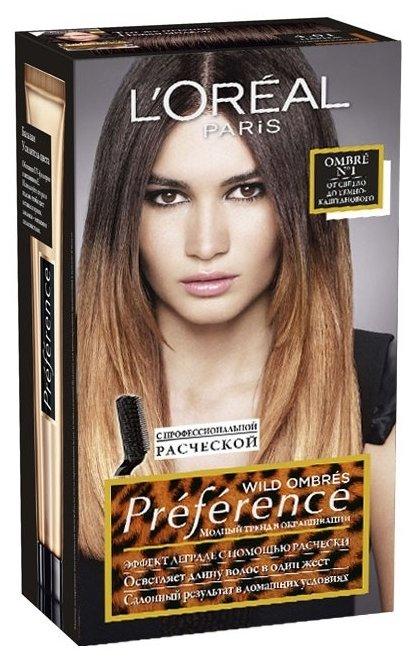 L'Oreal Paris Preference Wild Ombres стойкая краска для волос