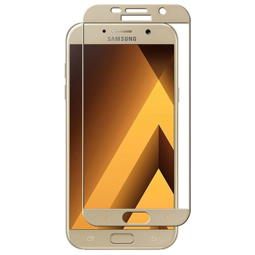 Защитное стекло UVOO Full screen для Samsung Galaxy A5 (2017) золотистый