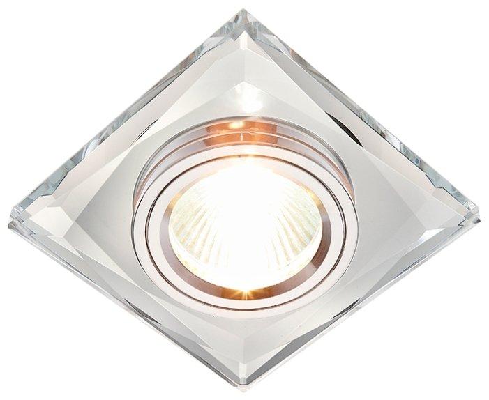 Встраиваемый светильник Ambrella light 8370 CL, хром