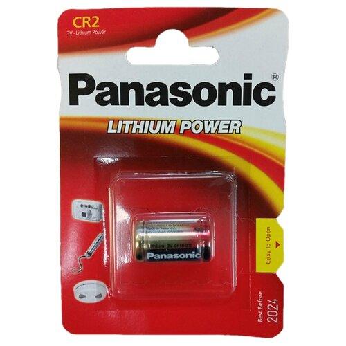 Купить Батарейка Panasonic Lithium Power CR2 1 шт блистер