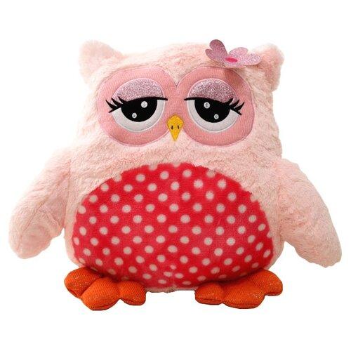Мягкая игрушка ПлюшЛенд Сова розовая 45 смМягкие игрушки<br>