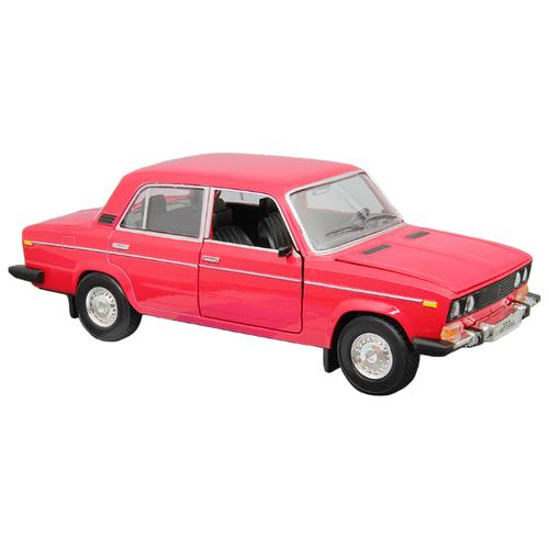 Легковой автомобиль Автопанорама ВАЗ 2106 1:22 22 см красный легковой автомобиль автопанорама мировые легенды ваз 2104 1 24 бежевый