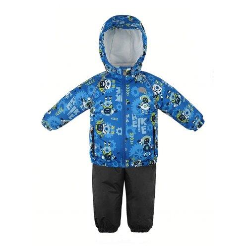 Купить Комплект с полукомбинезоном Reike размер 86, blue, Комплекты верхней одежды