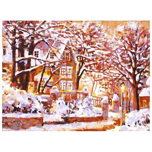 Белоснежка Картина по номерам Зимняя сказка 30х40 см (225-AS)Картины по номерам и контурам<br>