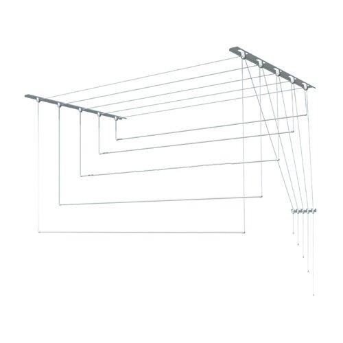 Сушилка для белья Лиана настенно-потолочная металлическая 1,8 м