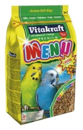 Vitakraft Корм для волнистых попугайчиков Menu vital