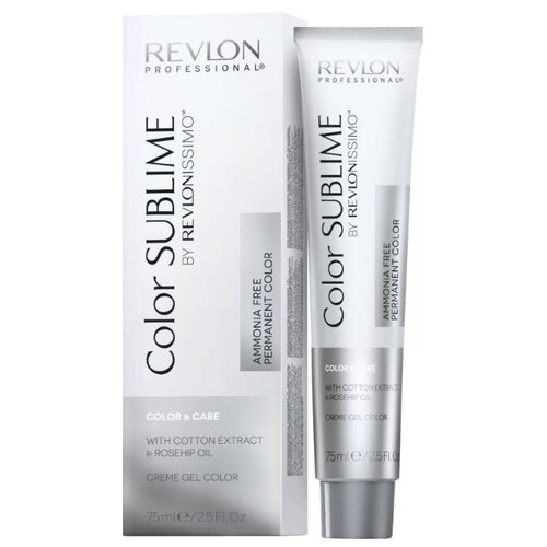 Revlon Professional Color Sublime by Revlonissimo стойкая краска для волос без аммиака, 75 мл, 6 темный блондинКраска<br>