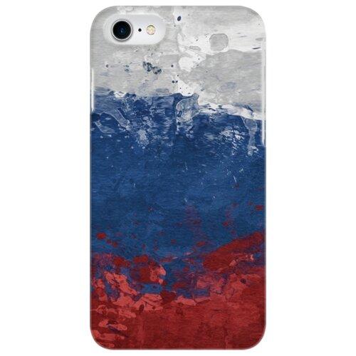 цена Чехол Mitya Veselkov IP7.MITYA-018 для Apple iPhone 7/iPhone 8 флаг РФ онлайн в 2017 году