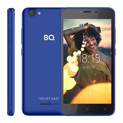 Смартфон BQ 5000G Velvet Easy синий смартфон