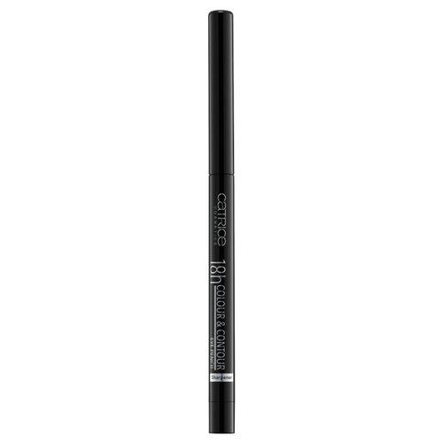 CATRICE Контур для глаз 18h Colour & Contour Eye Pencil, оттенок 010 me, my black and I