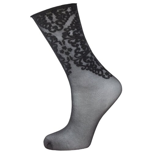 Капроновые носки Trasparenze Durian (c), размер Unica, nero