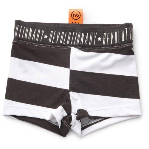 Плавки Happy Baby размер 104-110, black stripe happy baby плавки для мальчиков размер 92 happy baby