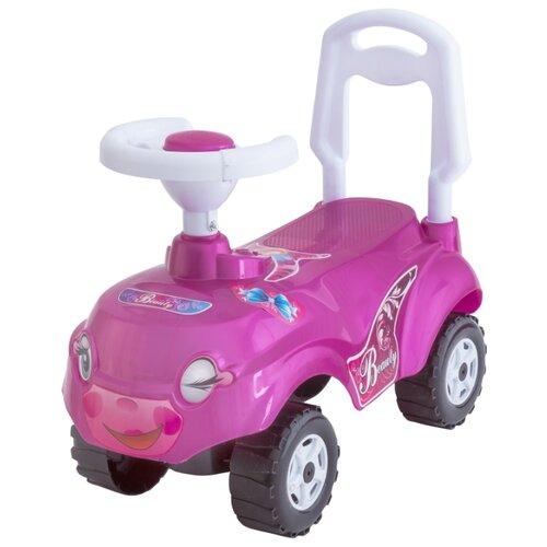 Каталка-толокар Orion Toys Микрокар (157) со звуковыми эффектами розовый каталка толокар orion toys мотоцикл 2 х колесный 501 зеленый