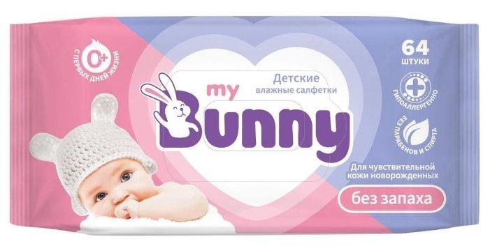 Влажные салфетки My Bunny без запаха