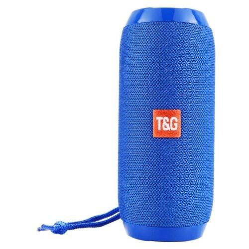 Портативная акустика T&G TG-117 / блютуз колонка (цвет синий)