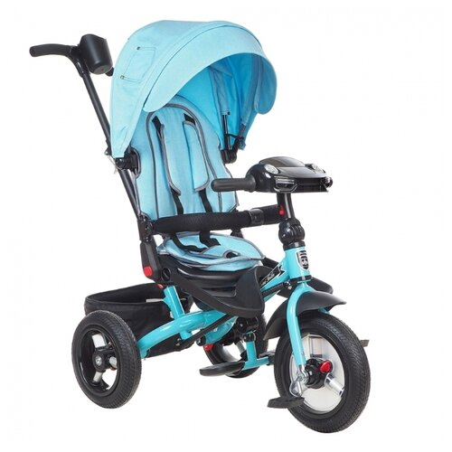 Купить Трехколесный велосипед Mars Mini Trike Transformer T400/2019 jeans light blue, Трехколесные велосипеды