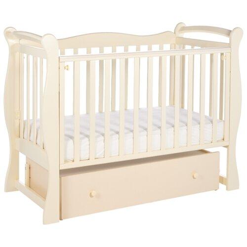 Кроватка SWEET BABY Dolce Vita (классическая), поперечный маятник слоновая кость детские кроватки sweet baby ennio маятник поперечный