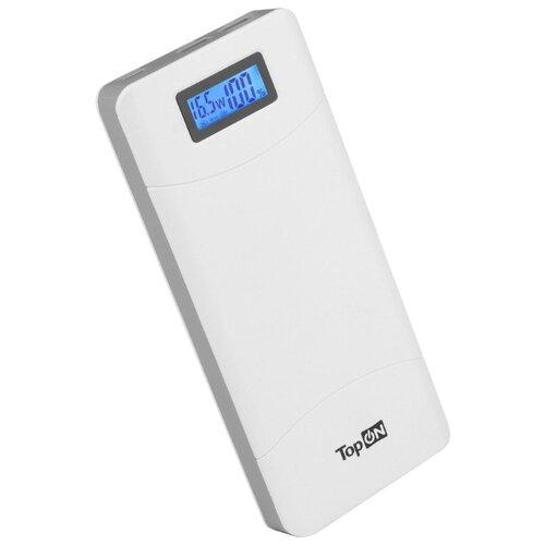 Аккумулятор TopON TOP-T80, 18000 mAh, белый