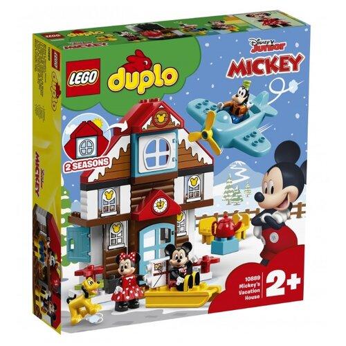 Конструктор LEGO Duplo 10889 Летний домик Микки lego duplo 10837 новый год lego