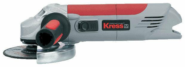 УШМ Kress 1100 WSE, 1100 Вт, 125 мм