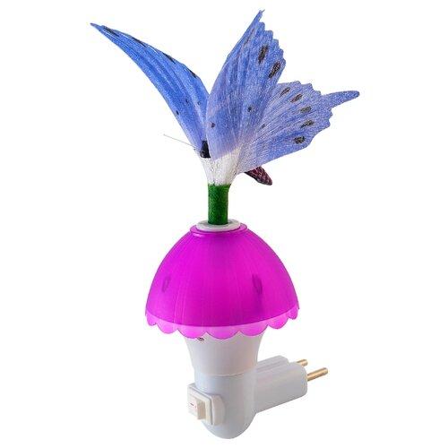 Ночник Lucia LC220 Фея Бабочка (фиолетовый)