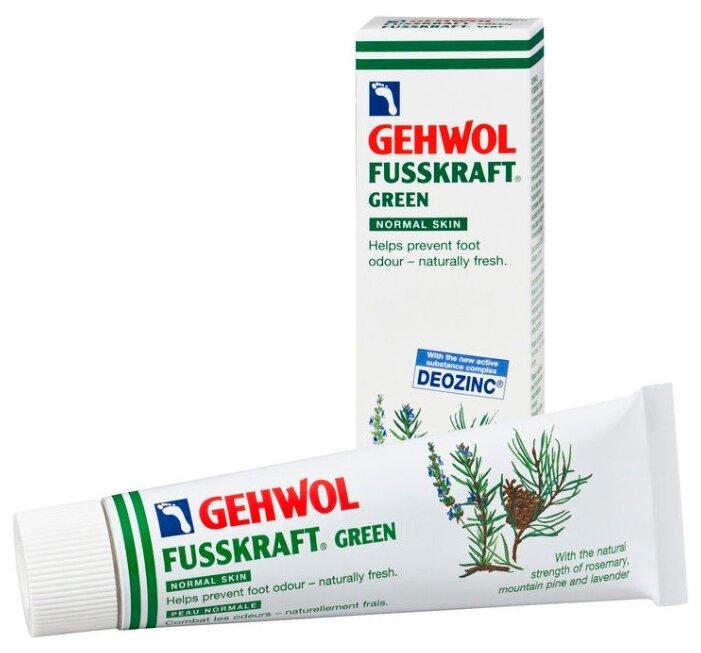 Gehwol Зеленый бальзам Fusskraft Green Notmal Skin Зеленый бальзам, 75 мл