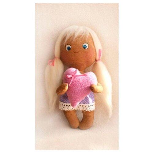 Купить Набор для изготовления текстильной игрушки Angel's Story , 21 см, арт. 007, Ваниль, Изготовление кукол и игрушек