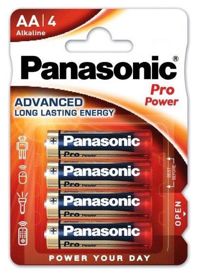 Батарейка Panasonic Pro Power AA/LR6 — купить по выгодной цене на Яндекс.Маркете