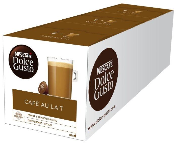 Кофе в капсулах Nescafe Dolce Gusto Cafe Au Lait (48 капс.)