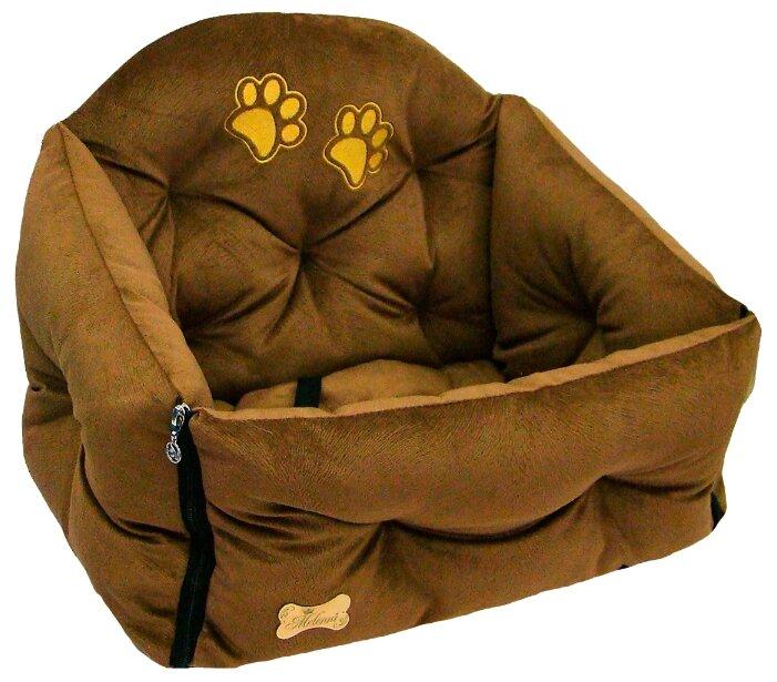 Автогамак для собак Melenni Стандарт Лапы 45х50х40 см