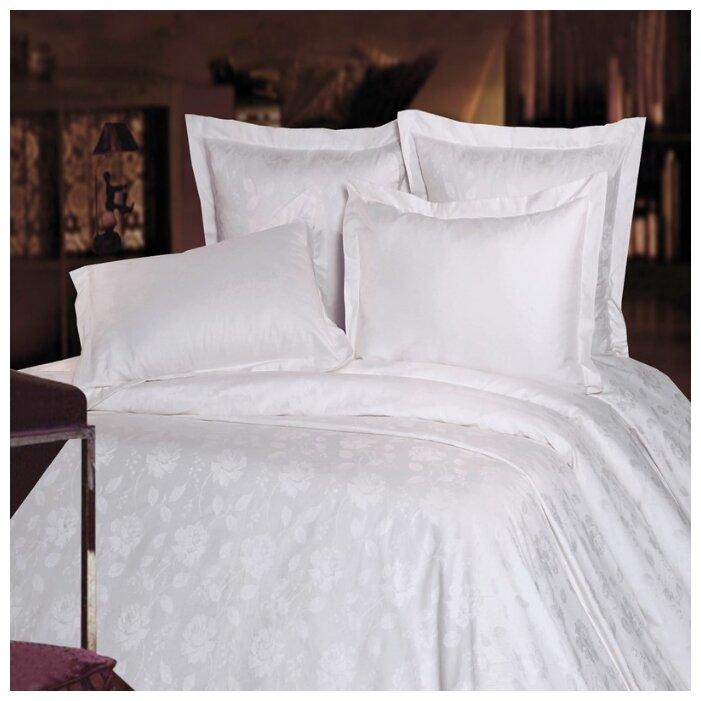 Постельное белье 2-спальное Mona Liza Royal Роза белая 5438/05 сатин-жаккард