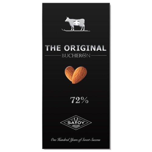 шоколад bucheron village горький с миндалем 100 г Шоколад Bucheron Original горький с миндалем, 100 г