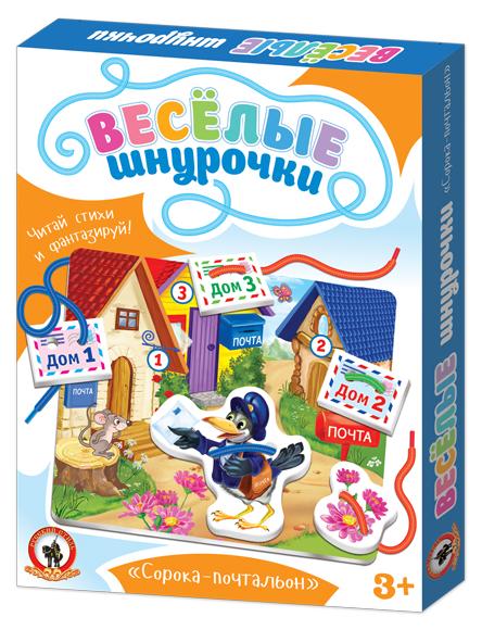 Шнуровка Русский стиль Сорока-почтальон (03232)