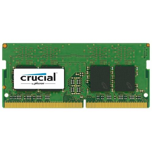 Купить Оперативная память Crucial DDR4 2400 (PC 19200) SODIMM 260 pin, 4 ГБ 1 шт. 1.2 В, CL 17, CT4G4SFS824A