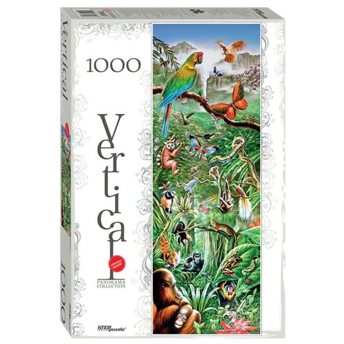 Купить Пазл Step puzzle Панорама Джунгли (79407), 1000 дет., Пазлы