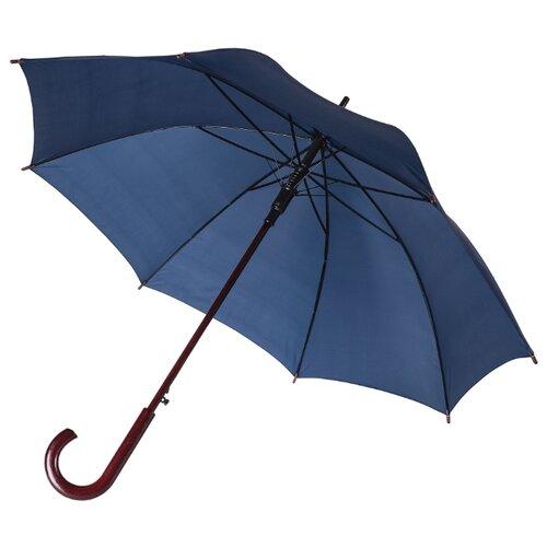 Зонт-трость полуавтомат Unit Standard (393) темно-синий зонт unit standard red
