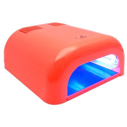Лампа UV planet nails 36W Tunnel Econom, 36 Вт коралловая  - Купить