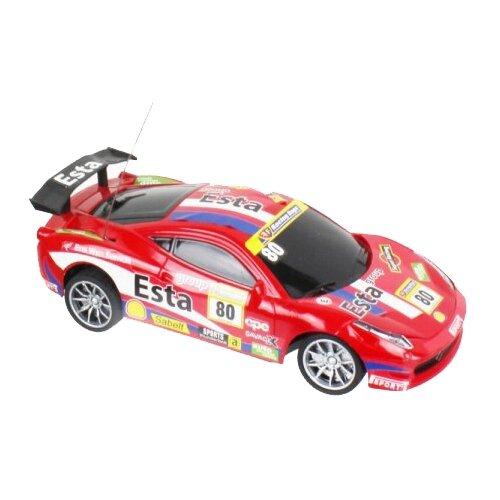 Гоночная машина 1 TOY Спортавто (T13836/Т13837/Т13838) 1:24 20 см красный легковой автомобиль 1 toy спортавто t13833 t13834 t13835 1 24 20 см оранжевый