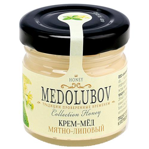 Крем-мед Medolubov Мятно-липовый 40 мл