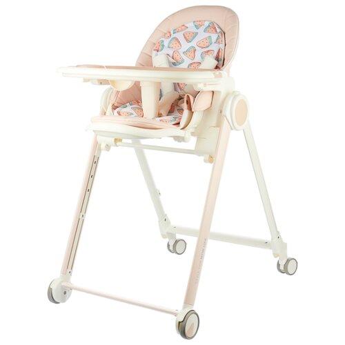 Стульчик для кормления Happy Baby Berny pink